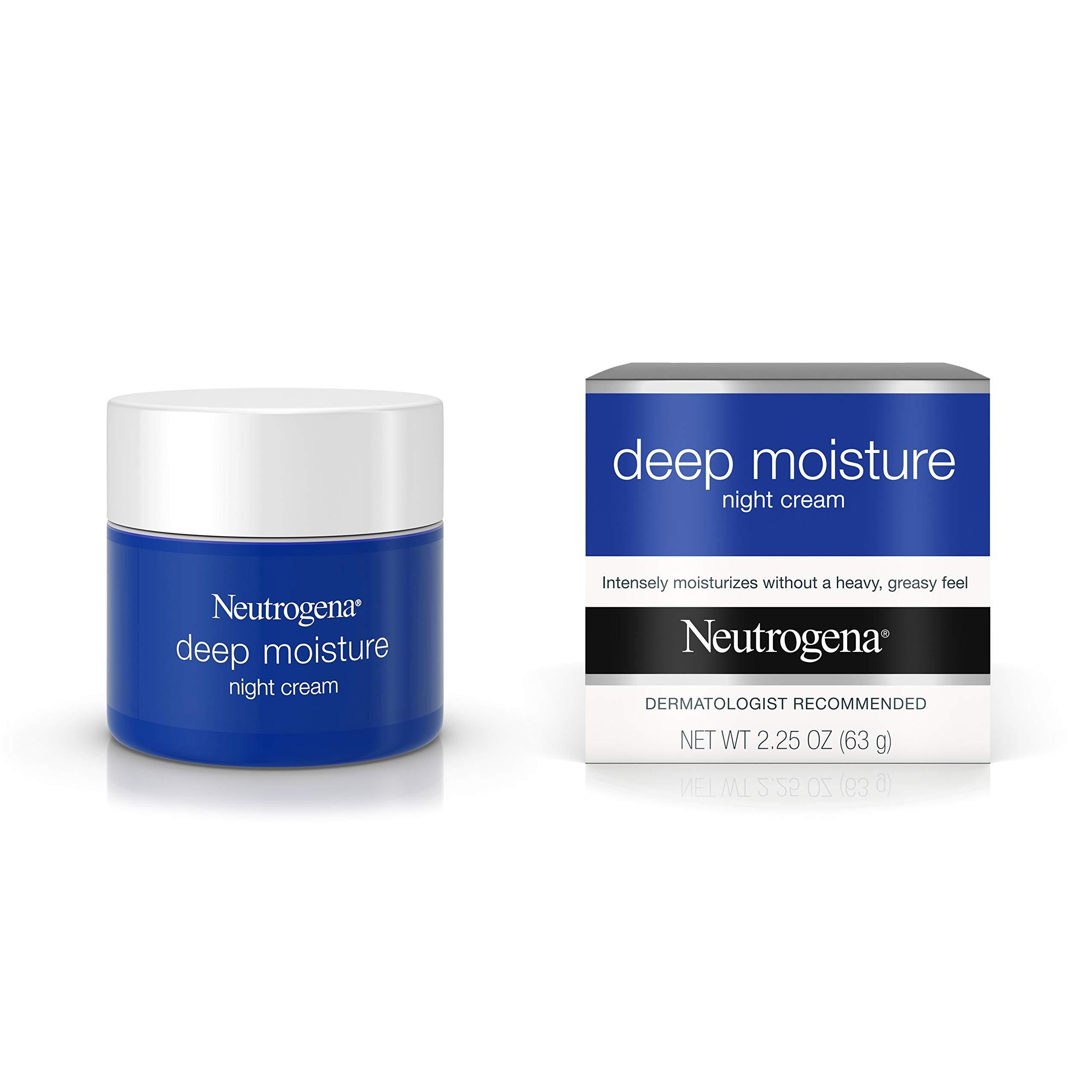 Neutrogena Deep Moisture Night Cream with Glycerin & Vitamin D3 for $14.49