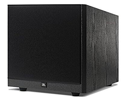 "JBL Arena S10 Black 10"" 100W Powered Subwoofer with Special Edition Grilles & Logo Black for $139.99"
