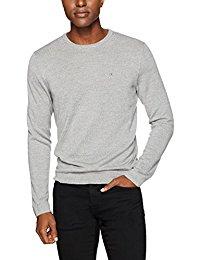 Calvin Klein Men's Merino Tipped Crew Neck Sweater for $21.84
