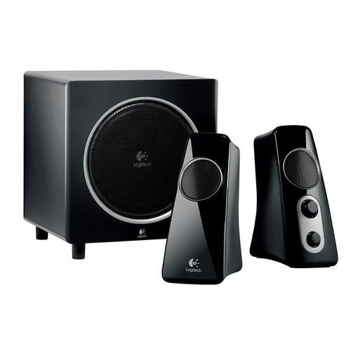Logitech Speaker System Z523 with Subwoofer [Speaker] for $49.99