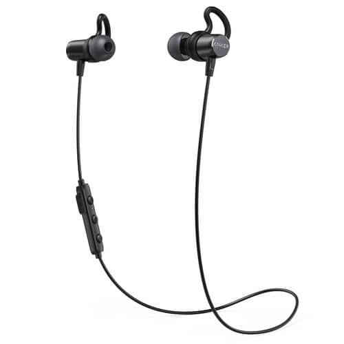 Anker SoundBuds Surge Lightweight Wireless Headphones, Bluetooth 4.1 Sports Earphones for $19.03