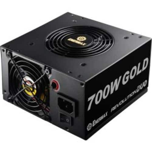 Enermax Revolution DUO 700W DUOFlow design 80+ Gold Certified Power Supply for $59.99