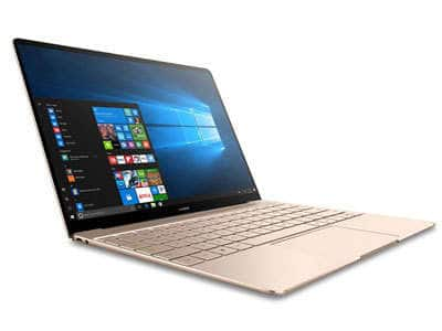 "Huawei MateBook X Signature Edition Ultraslim Laptop, 13"" QHD (2K), Intel Core i7-7500U, 8GB RAM, 512GB SSD for $799"