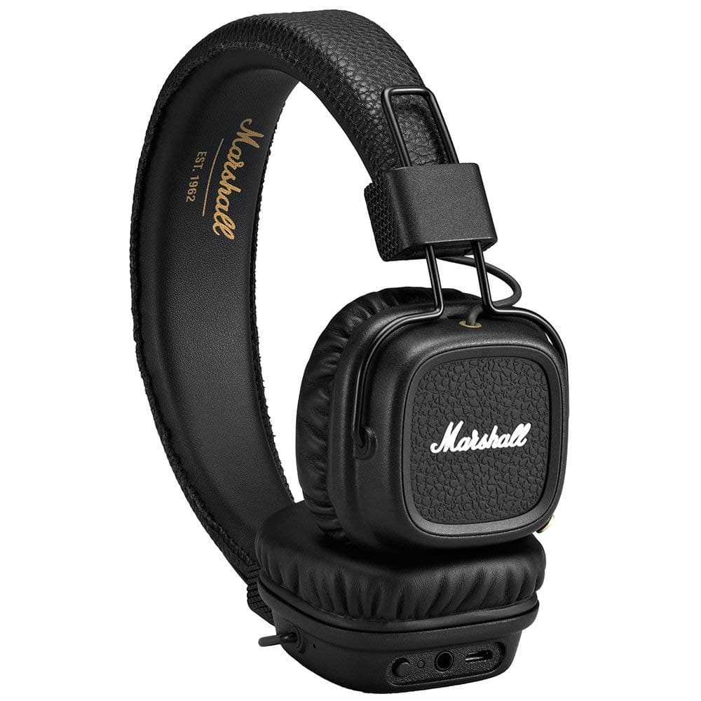 Marshall Major II On Ear Wireless Bluetooth Headphones In Black for $49 (20% prime members promo)