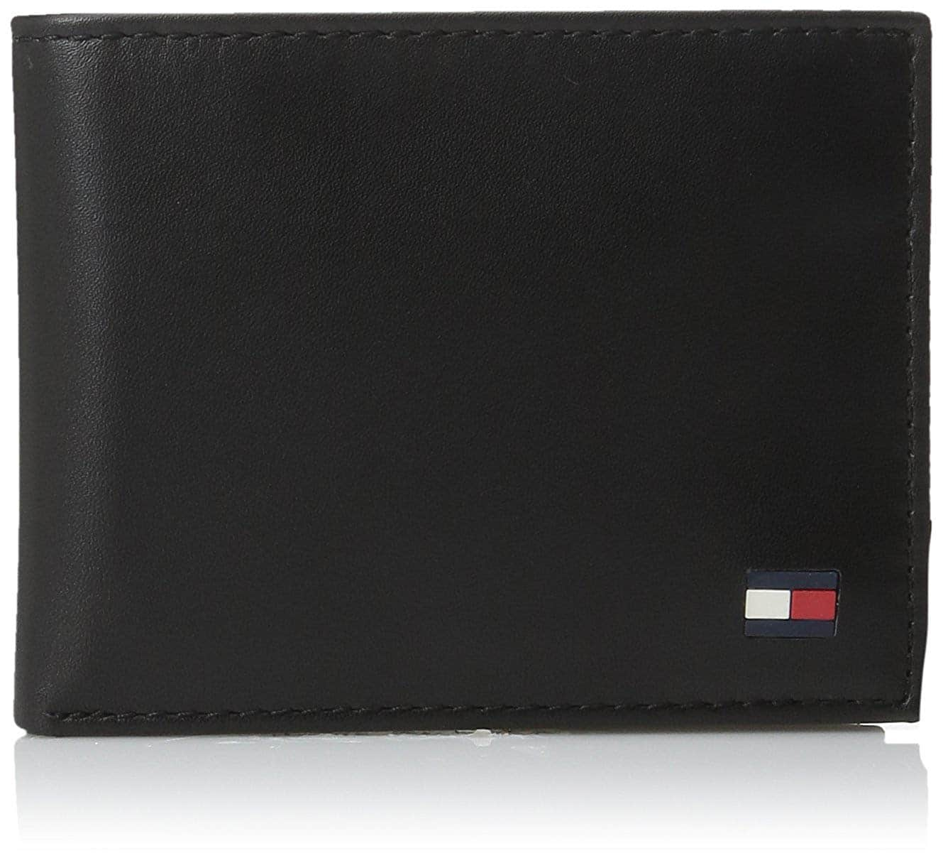 04fd69ccf 2 for 1 - Tommy Hilfiger Men s Leather Dore Passcase Billfold Wallet for   18.50
