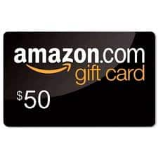 YMMV Get a $15 credit when you purchase $50 in Amazon Gift Cards