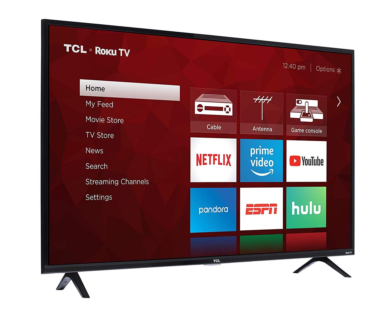 TCL 49S325 49 Inch 1080p Smart Roku LED TV (2019) for $199.99