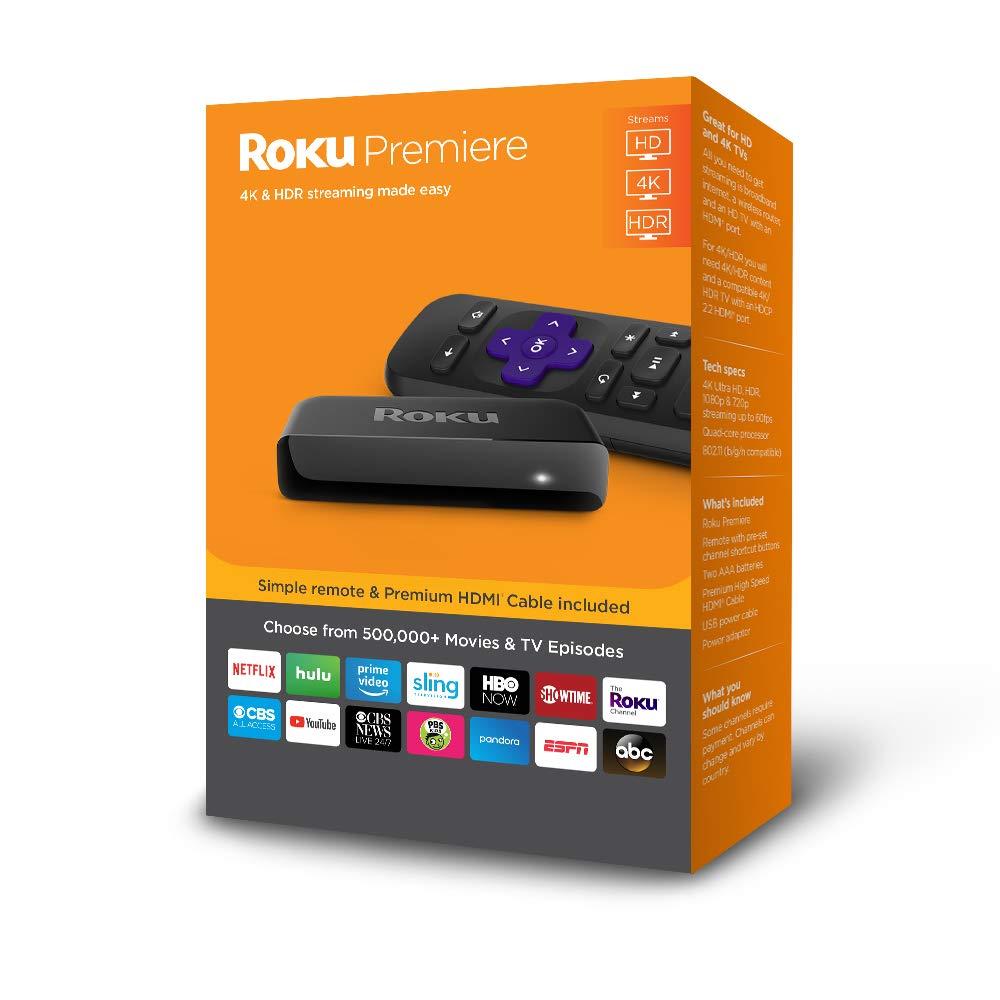 Roku Premiere 4K Streaming Media Player - Slickdeals net