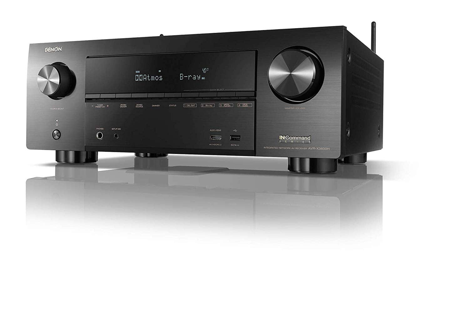 Denon AVR-X3600H UHD AV Receiver | 2019 Model | 9 2 Channel