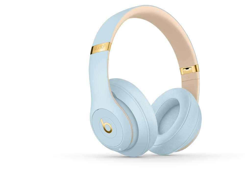 Beats Studio3 Wireless Noise Canceling Over-Ear Headphones - Crystal Blue [Skyline Collection] for $199