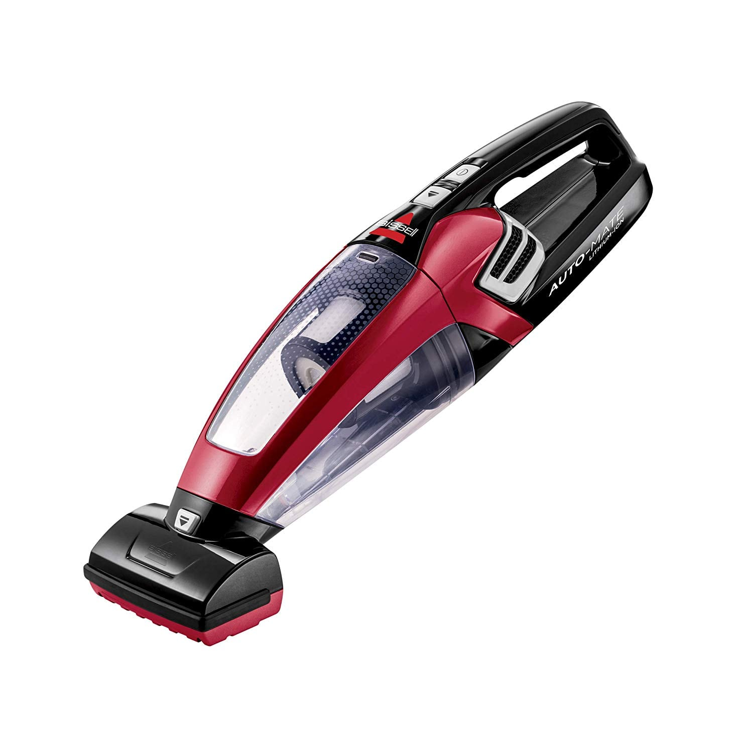 BISSELL AutoMate Lithium Ion Cordless Handheld car Vacuum, 2284W, Red for $40
