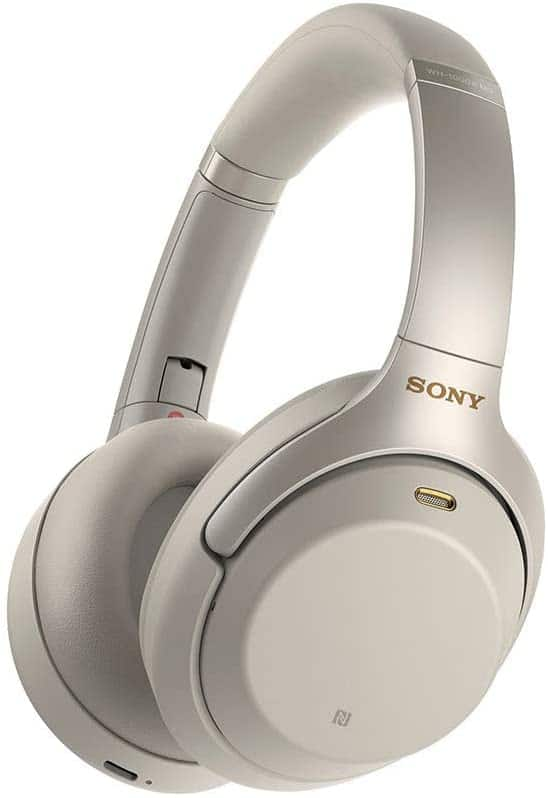 (Warehouse Deals - Like New) Sony WH1000XM3 Noise Cancelling Headphones : Wireless Bluetooth Over the Ear Headset – Silver $174.84