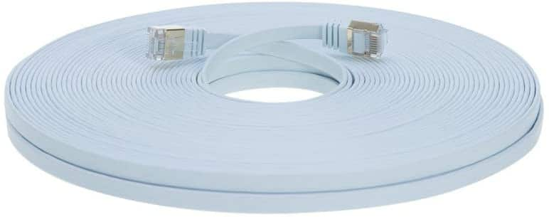 25FT U/FTP Flat Design CAT7 (Copper) for $6.96