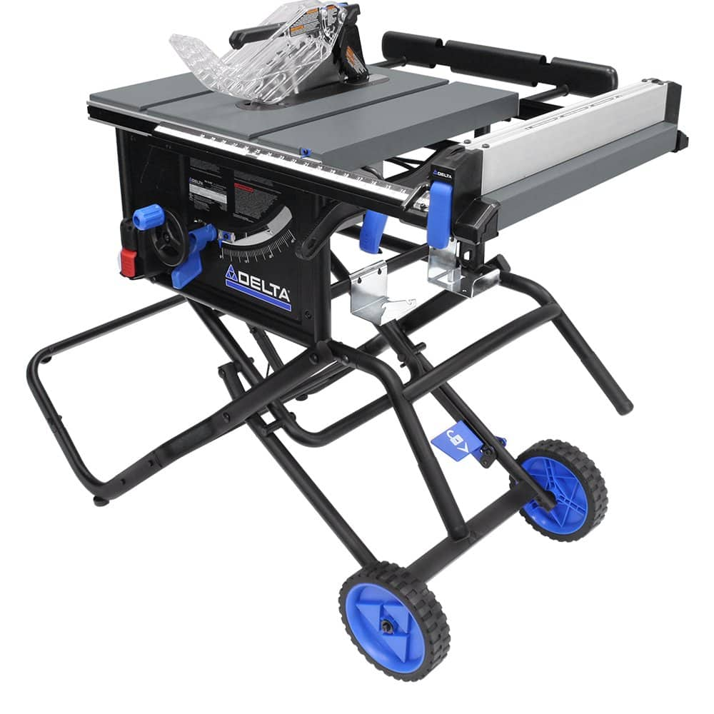 Delta 15 Amp 10 in. Portable Table Saw - $249 free ship to store
