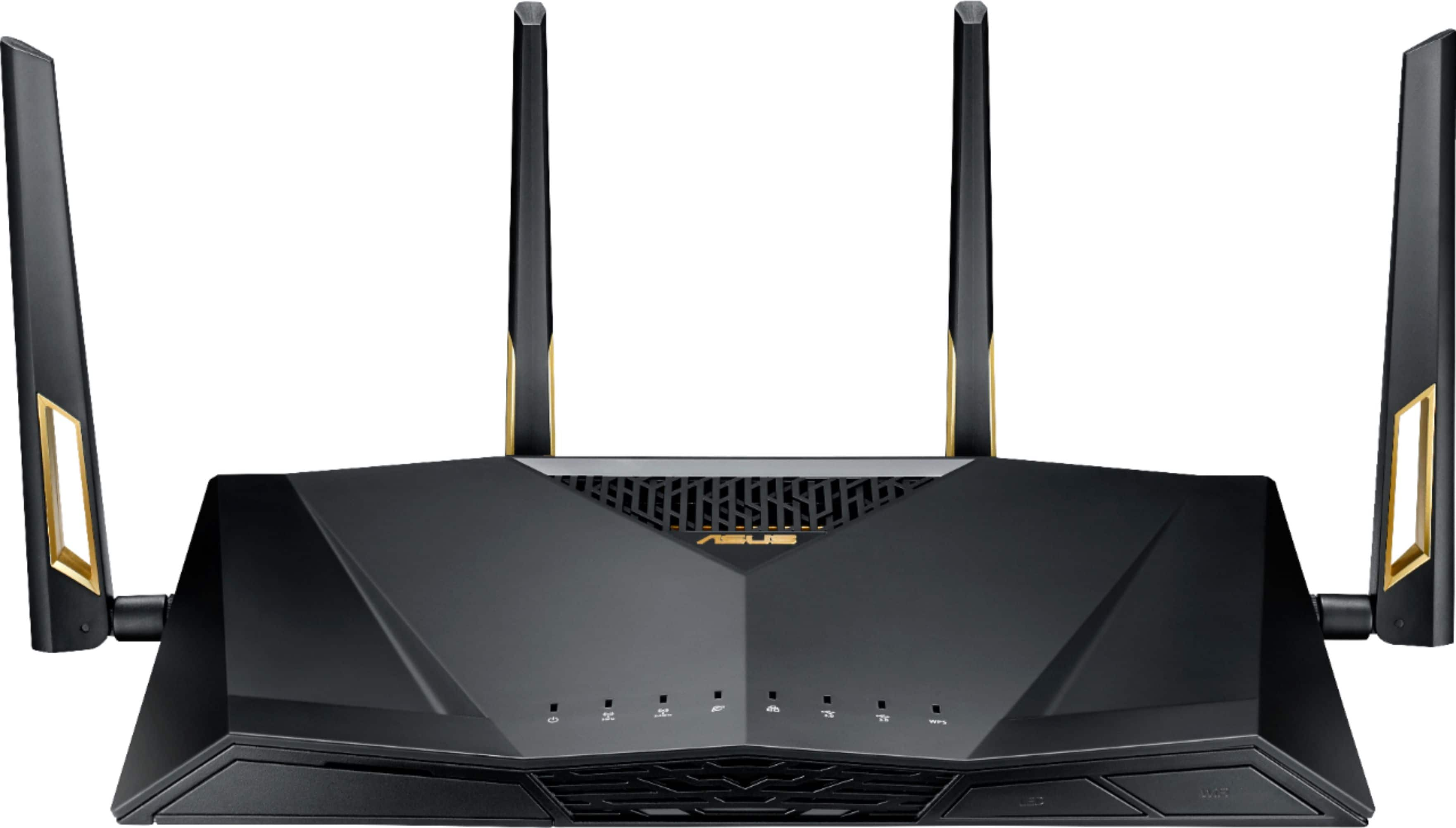 ASUS AX6000 Dual Band Wi-Fi 6 Router RT-AX88U - Best Buy $299.99