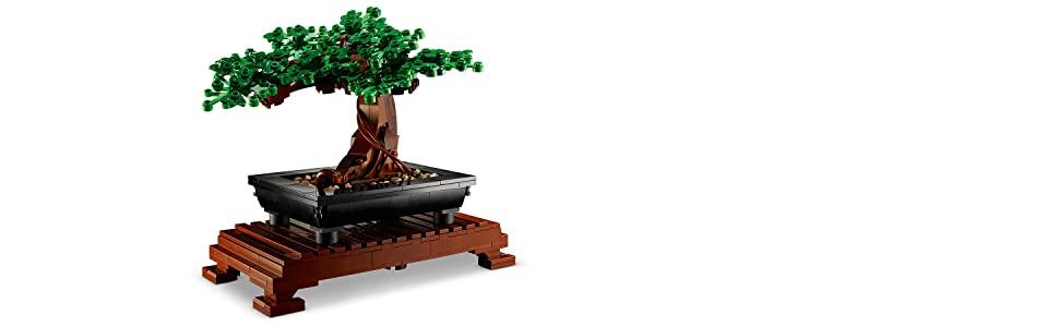 LEGO Bonsai Tree 10281 Building Kit, New 2021 (878 Pieces) for $40 @ Amazon and Walmart