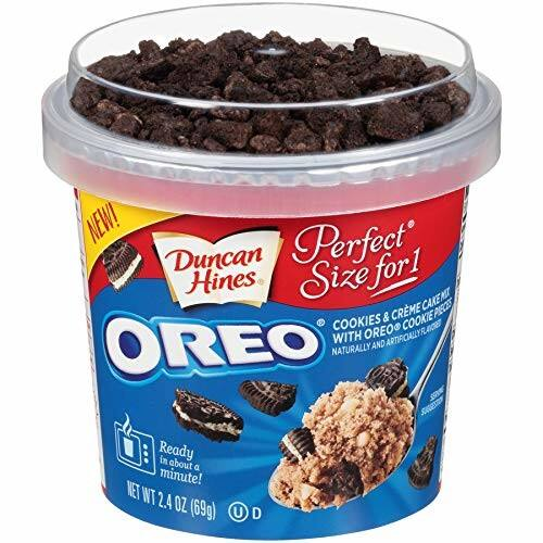 Duncan Hines OREO Cake Cup, 2.4 oz Cup, 12 Counts for $9 @ Amazon