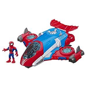 Playskool Heroes Marvel Super Hero Adventures Spider-Man Jetquarters for $14.99 @ Amazon