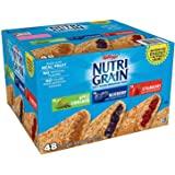Kelloggs Nutri-Grain Variety Pack Soft Baked Breakfast Bars, 48 Counts for $8.99 AC @ Amazon