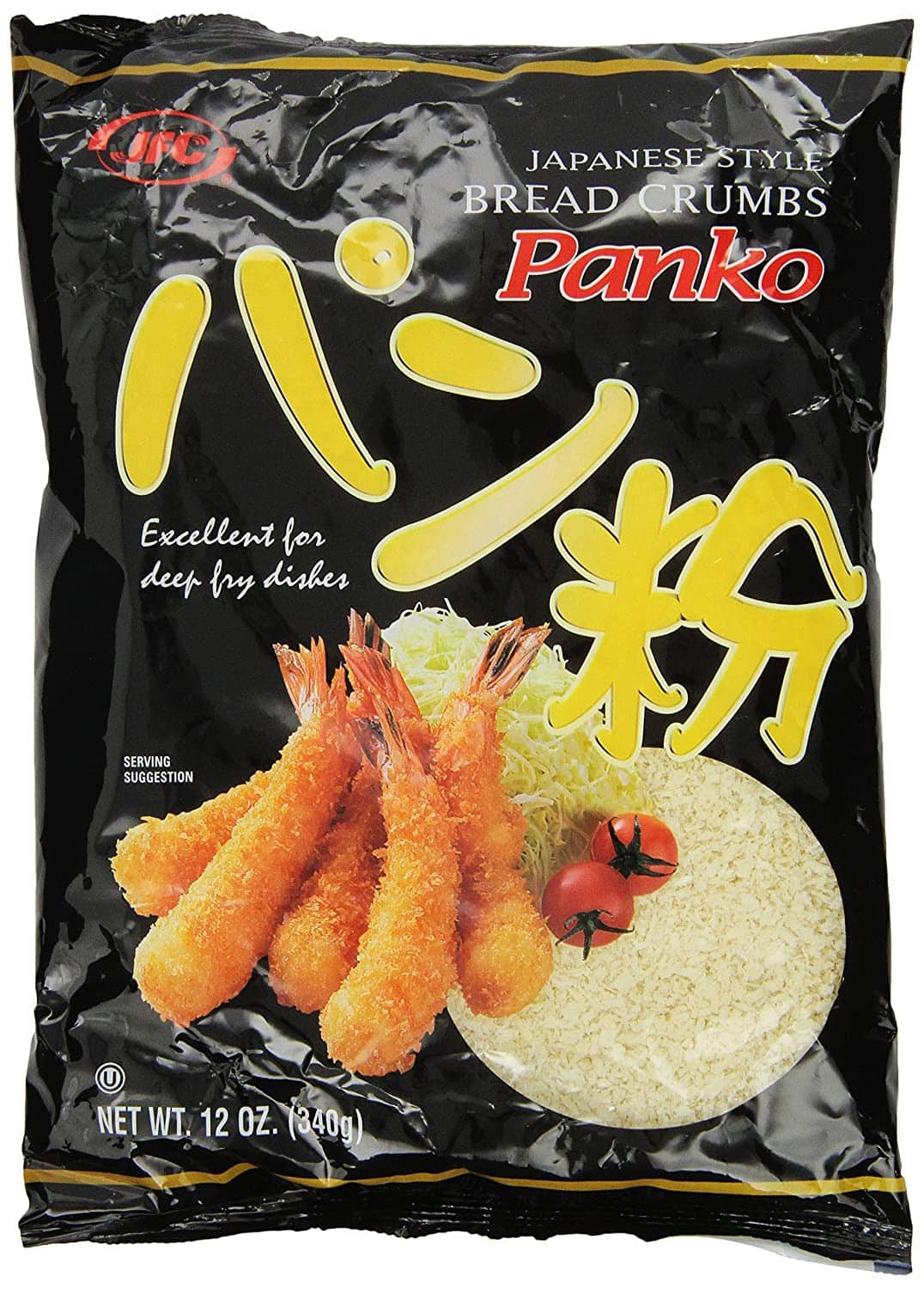 JFC Panko Bread Crumbs, 12-Ounce Packages (Pack of 6) for $11.94 @ Amazon