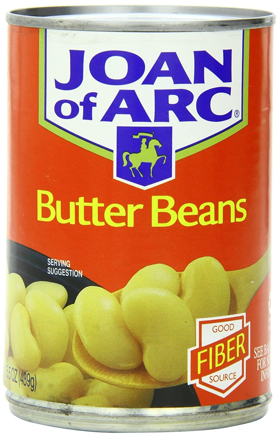 Joan of Arc Butter Beans, 15.5 Ounce (Pack of 12) for $10.68 @ Amazon