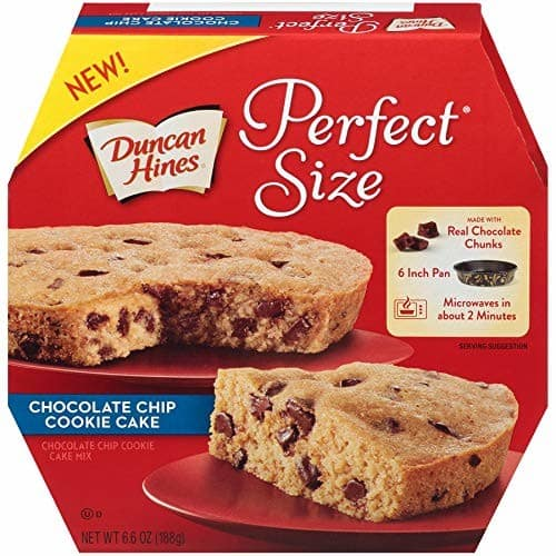 Duncan Hines Easy Cake Kit Chocolate Chip Cookie Cake Mix, 6.6 OZ for $2.25 AC @ Amazon