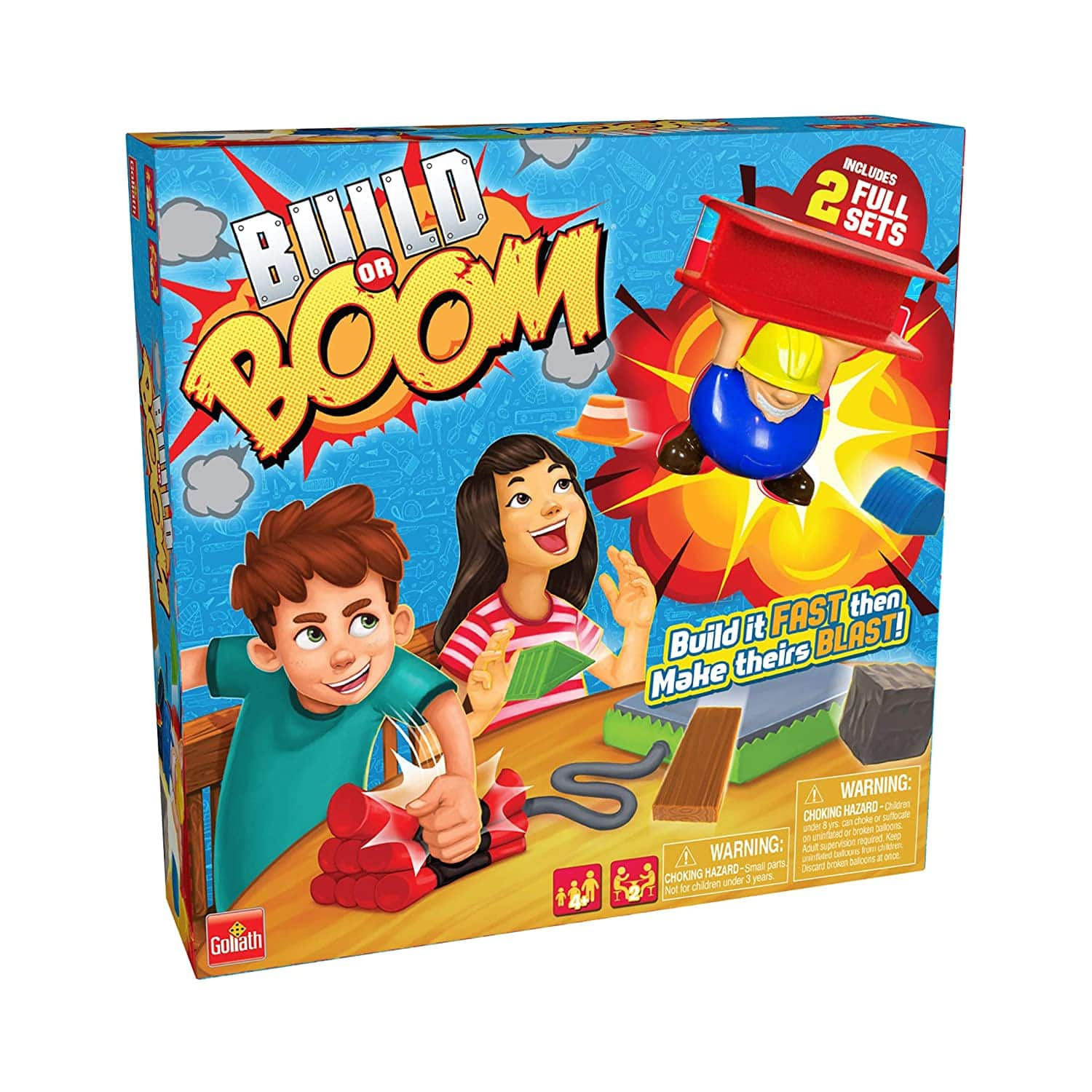 Goliath Games - Build Or Boom Game for $9.88 @ Walmart