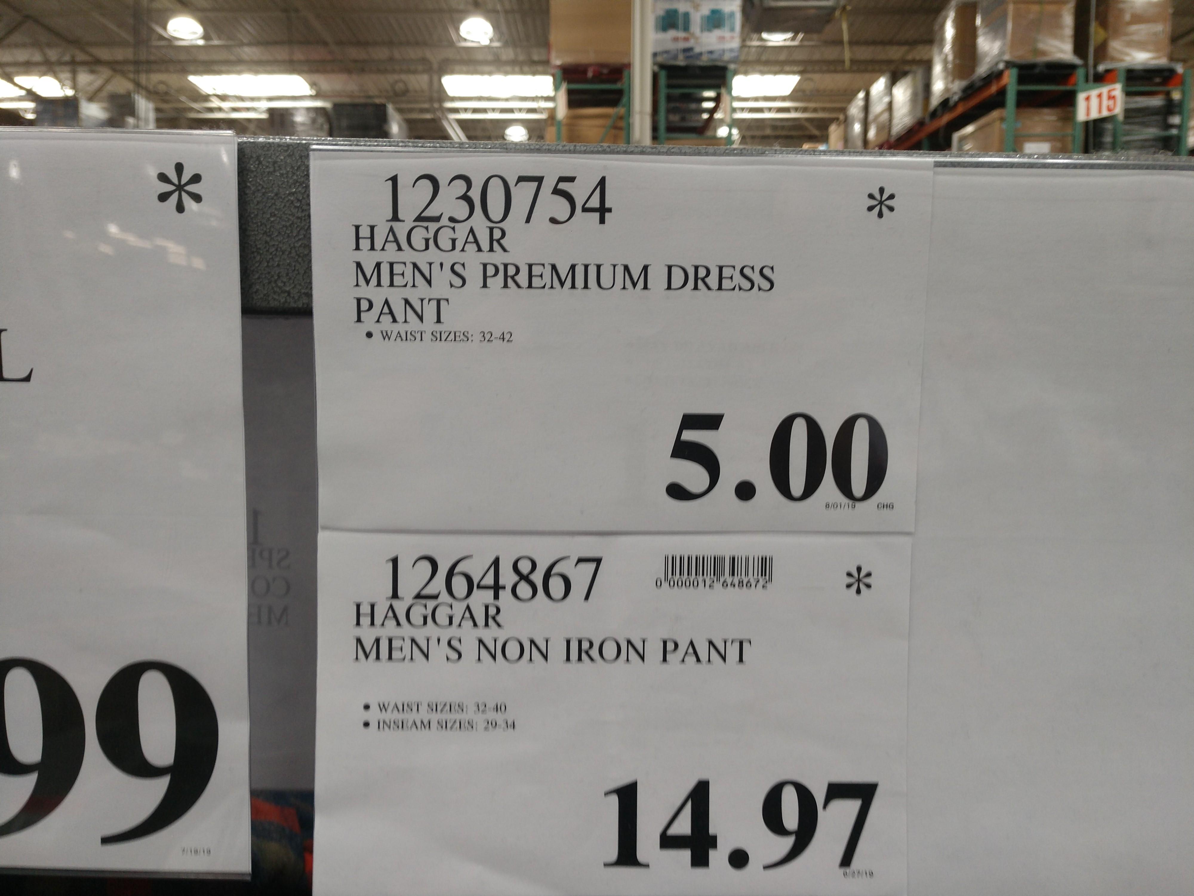 Haggar Premium Stretch Dress Pant - YMMV $5