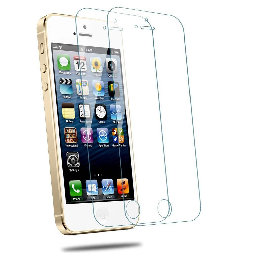 iPhone SE/5/5S/5C Tempered Glass Screen Protector $1.65 + FS on $25+ or w/ Prime (Amazon)