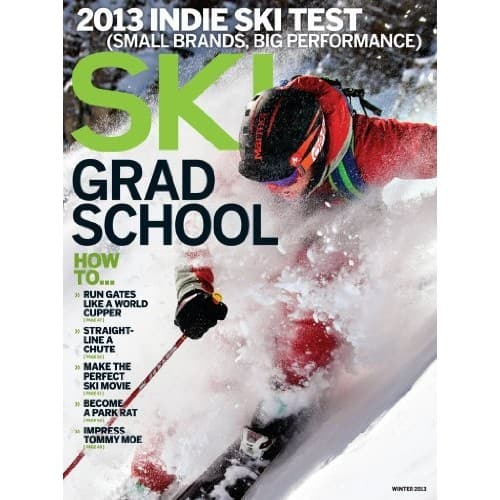 Ski Magazine, 1 year for 6 issues, print OR kindle edition $5