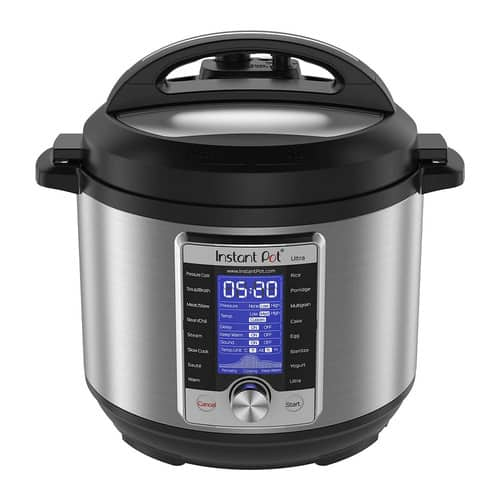 Instant Pot Ultra 10-in-1 6-qt. Programmable Pressure Cooker $71.99 shipped + $10 Kohls Cash!