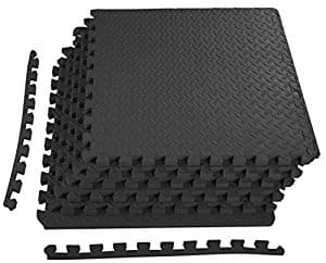 "BalanceFrom 3/4"" Thick Puzzle Exercise Mat with EVA Foam Interlocking Tiles - $18.95"