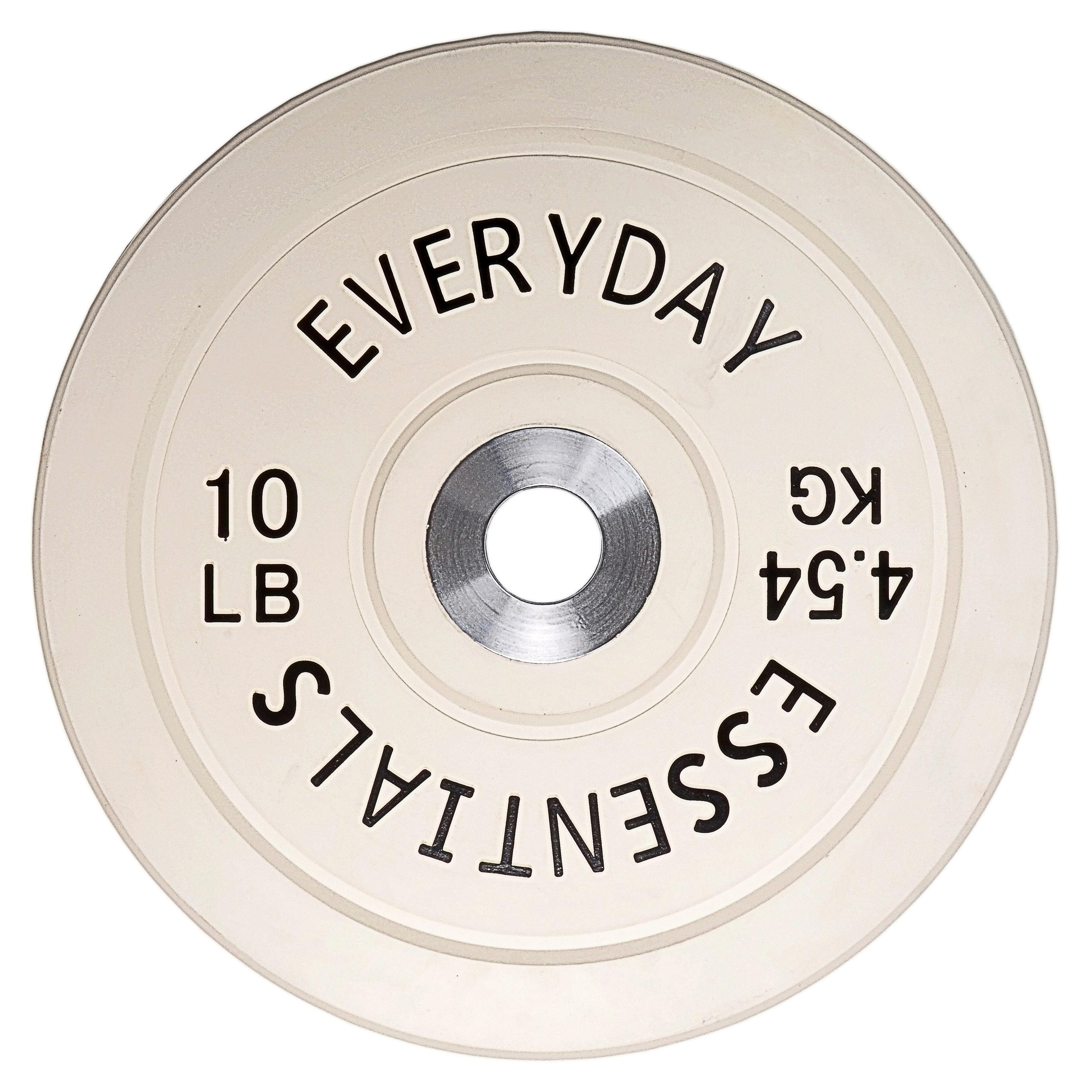 Everyday Essentials bumper plates $1.2/lb- $199.99