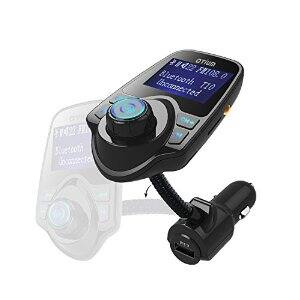 Otium® Bluetooth Wireless FM Transmitter with USB Charger, Hands-Free Calling $12.99 AC, FS with prime or FSSS @Amazon