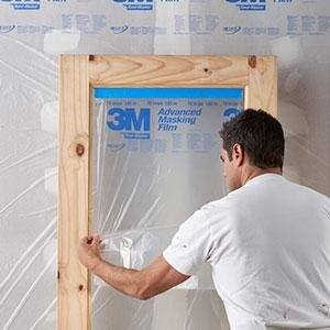 3M 72-in x 90-ft Non-Adhesive Premium Masking Film $2.87 YMMV @ Lowes in-store pickup available