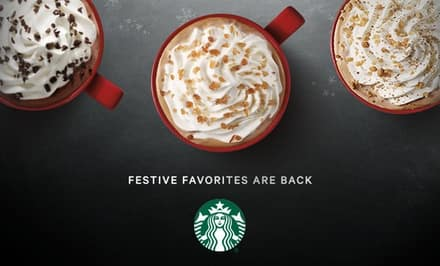 $5 for $10 Starbucks Gift Card - Groupon (YMMV - Invite Only)