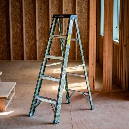 Werner 5-ft Fiberglass Type 2 - 225 Lbs. Digital Camo Step Ladder $23.97 Store Pickup