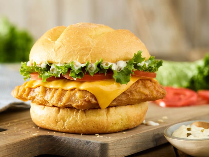 Smashburger Restaurant: Beer Battered Pacific Cod Sandwich