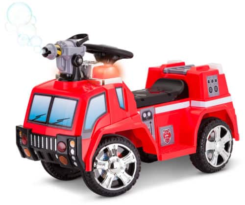 Kid Trax Fire Engine 6V Battery Powered Toddler Ride On Quad for $23.99