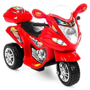 Kids Ride On Motorcycle 6V Toy Battery Powered Electric 3 Wheel Bicycle Red for $44.99