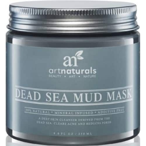 ArtNaturals Dead Sea Mud Mask - for Face, Body & Hair 8.8 oz, 100% Natural and Organic Deep Skin Cleanser - Clears Acne, Reduces Pores & Wrinkles - 5.99 $5.99