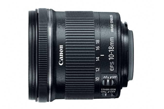 Canon EF-S 10-18mm f/4.5-5.6 IS STM Lens (Refurbished) $190 + Free Shipping