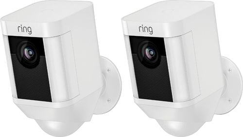 Ring - Spotlight Cam Wire-free 2-Pack - White - 279.99 $279.99