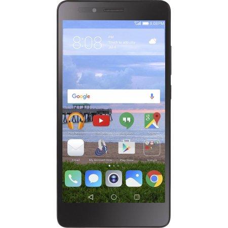 Straight Talk Huawei Sensa 16GB Prepaid Smartphone, Gray $39.99