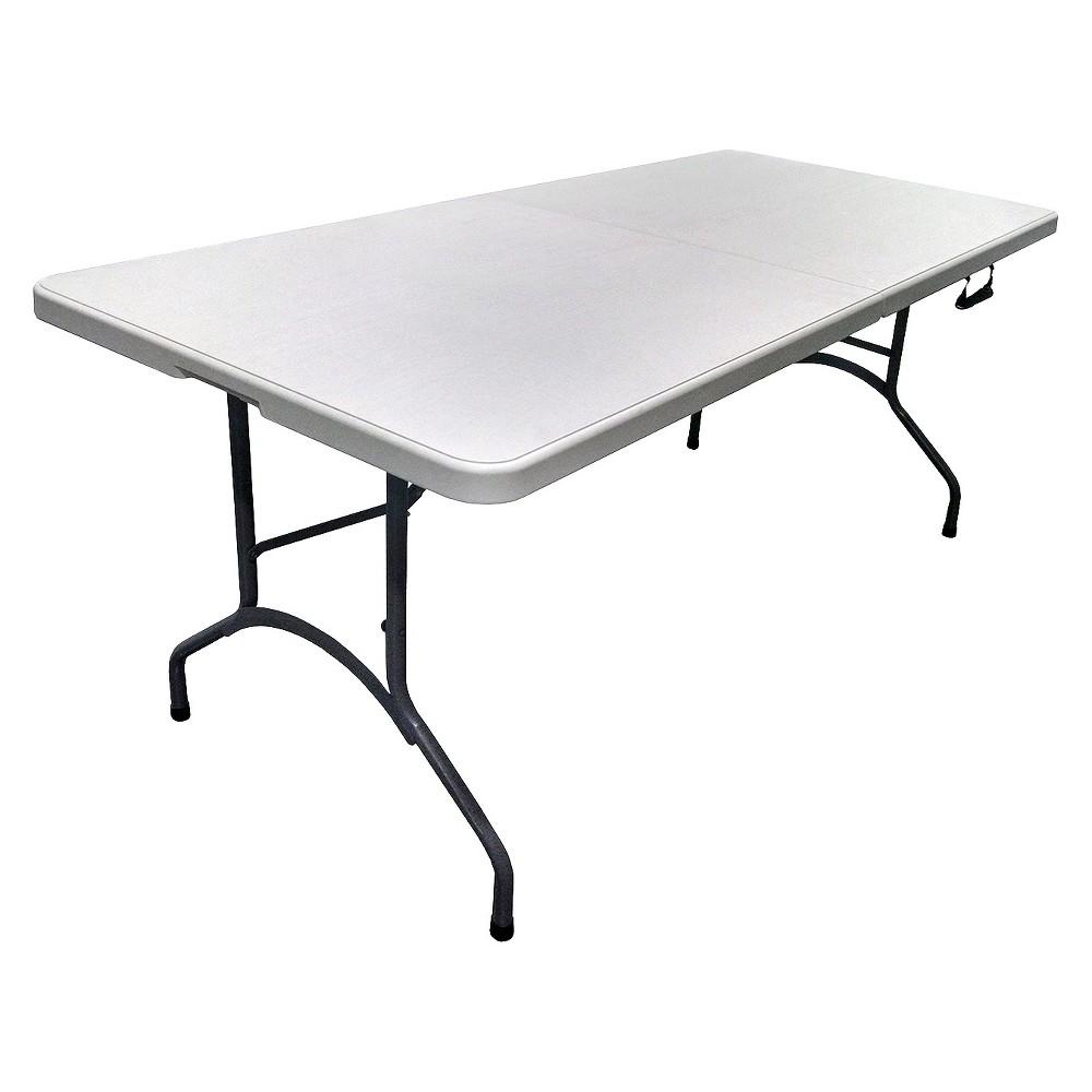 6 39 plastic development group folding banquet table. Black Bedroom Furniture Sets. Home Design Ideas