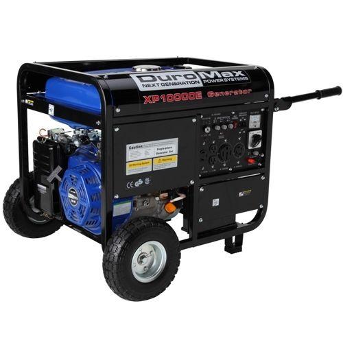 DuroMax-10000-Watt-18hp-Portable-Gas-Electric-Start-Generator $499.99 at ebay