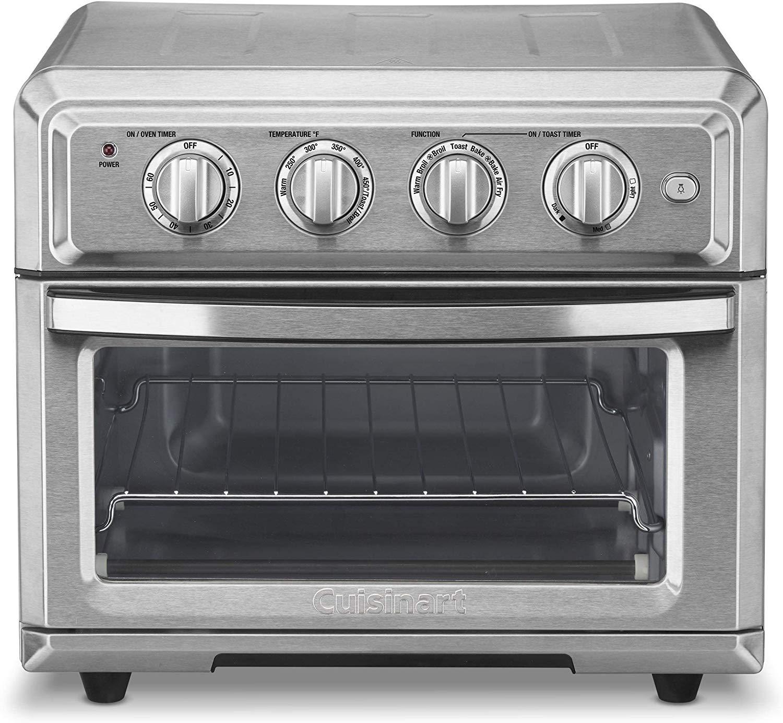 Cuisinart air fryer toaster oven toa-60 $103
