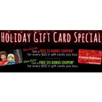 Ruby Tuesday Deal: Ruby Tuesday: Buy one $50 gift card get $15 free bonus card!