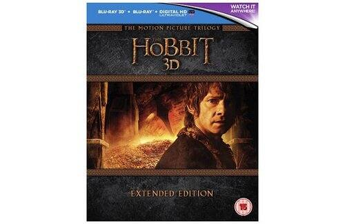 The Hobbit Trilogy - Extended Edition Blu-ray ($43 + free shipping)