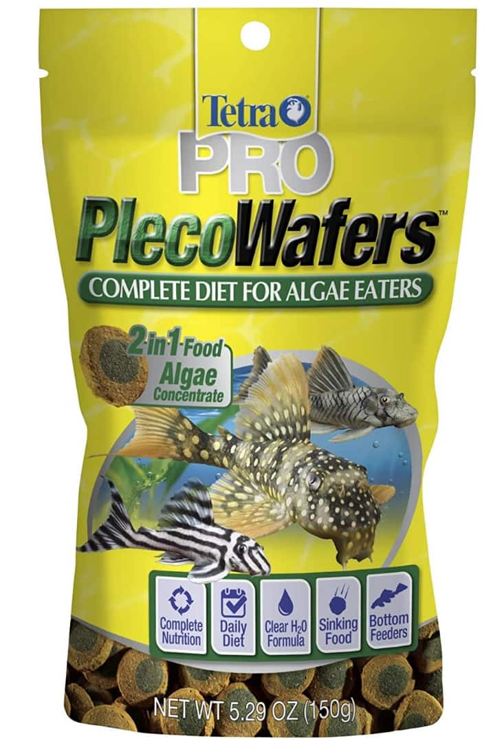 Amazon has 2 X 5.3oz Tetra PlecoWafers for Algae Eaters for $7.01 with Subscribe and Save